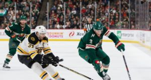 Could the Boston Bruins be interested in Minnesota Wild's Charlie Coyle?