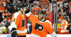 Philadelphia Flyers defensemen Shayne Gostisbehere and Travis Sanheim could be under the watchful eye of new GM Chuck Fletcher.