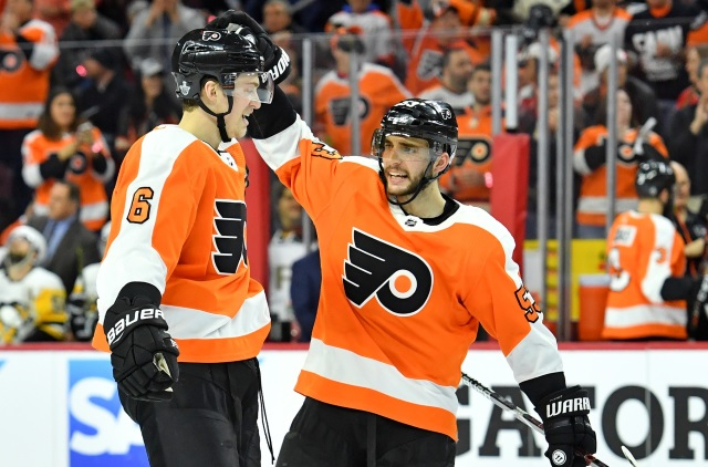 Travis Sanheim settles on new bridge deal with Philadelphia Flyers