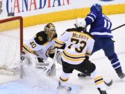The NHL is looking at Zack Hyman's hit on Charlie McAvoy.