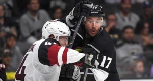 Ilya Kovalchuk is out with an ankle injury.