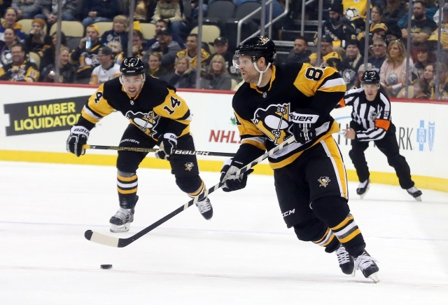 The Pittsburgh Penguins tested the market for Phil Kessel.