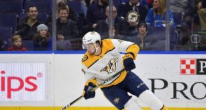 The Nashville Predators have lost Filip Forsberg for four to six weeks.