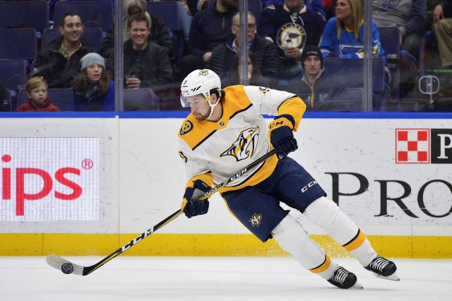 NHL Injuries: Coyotes, Hurricanes, Blue Jackets, Panthers, Predators and Jets