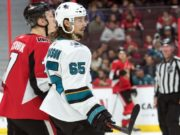 No serious talks between the San Jose Sharks and Erik Karlsson yet.