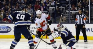 Calgary Flames and Columbus Blue Jackets combined for 15 goals last night.