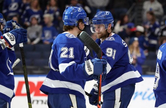 A clean sweep for the Tampa Bay Lightning from media outlets for our week 10 NHL power rankings.