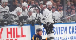 The LA Kings lost Drew Doughty and Dion Phaneuf to upper-body injuries.
