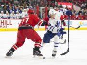 The Carolina Hurricanes have talked internally about Toronto Maple Leafs Kasperi Kapanen.