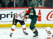 Minnesota Wild defenseman Matt Dumba will be out for a while