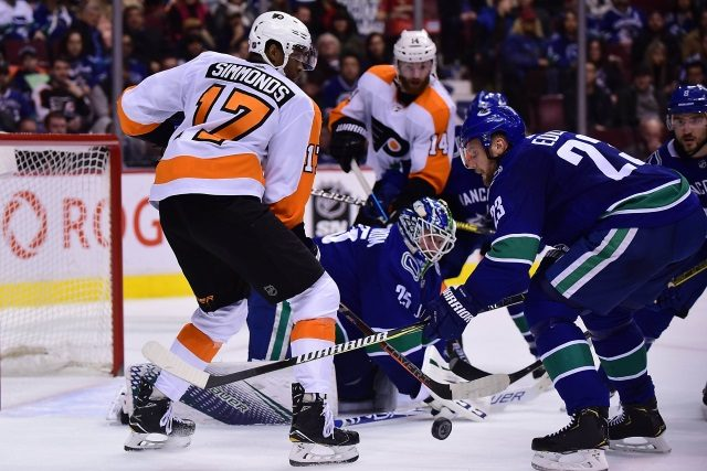 Wayne Simmonds and Alex Edler are two players who could be traded by the February 25th NHL trade deadline.