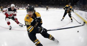 Boston Bruins David Pastrnak leads Boston into the playoffs but will need help scoring.