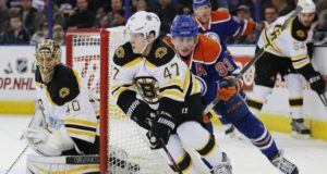 Could the Edmonton Oilers and Boston Bruins consider a trade involving Torey Krug and Ryan Nugent-Hopkins?