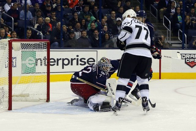 Jeff Carter could be one LA Kings player teams are calling about. Sergei Bobrovsky's agent doesn't have a great relationship with the Blue Jackets.