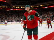 The Minnesota Wild have traded Nino Niederreiter to the Carolina Hurricanes for Viktor Rask.