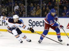 New York Rangers defenseman Kevin Shattenkirk trying not think about the NHL trade deadline.