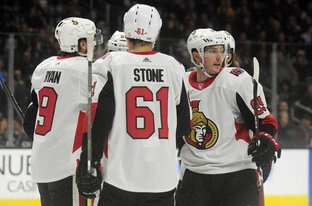 The Ottawa Senators are expected to meet with the reps of pending free agents Mark Stone and Matt Duchene next week.