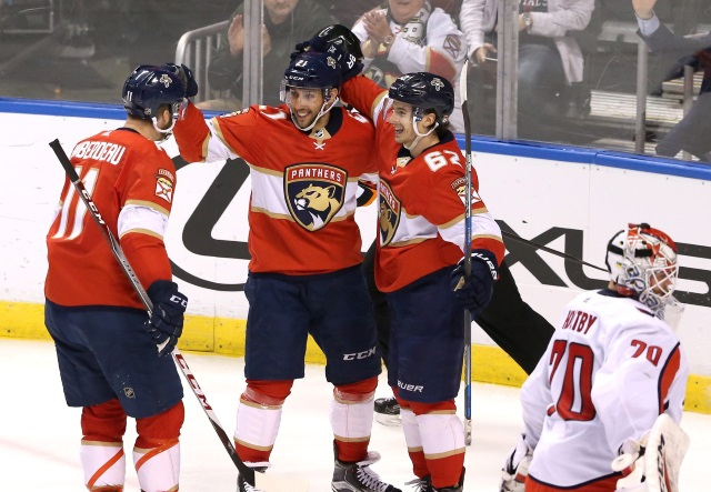 Florida Panthers holding Vincent Trocheck out until after their breaks. Braden Holtby status for tonight not known yet.