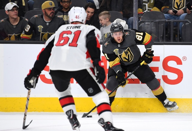 The Vegas Golden Knights might be in on Mark Stone if he doesn't re-sign with the Ottawa Senators.