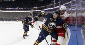 Report that Buffalo Sabres Nathan Beaulieu has requested a trade.