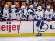 The Toronto Maple Leafs are not interested in trading Kasperi Kapanen or Rasmus Sandin.