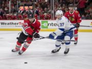 The Tampa Bay Lightning have traded defenseman Slater Koekkoek and a 2019 5th round pick to the Chicago Blackhawks for defenseman Jan Rutta and a 2019 7th round pick.