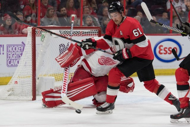 Mark Stone says his camp will sit down the Ottawa Senators in the next couple weeks.