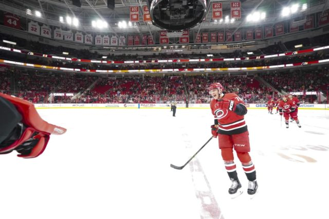 The Carolina Hurricanes could move Micheal Ferland if talks go nowhere.