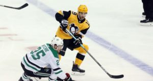 Pittsburgh Penguins Derick Brassard tries to avoid the rumor mill. The Dallas Stars always looking for scoring and skill.
