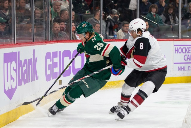 The Arizona Coyotes lose Nick Schmaltz for the season but have him for seven more years.