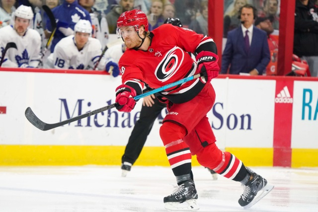 Dougie Hamilton is in hot pursuit by quite a few NHL teams including maybe the Carolina Hurricanes and many more.