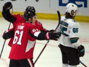 The San Jose Sharks meet with Erik Karlsson agent. The Ottawa Senators make an offer to Mark Stone