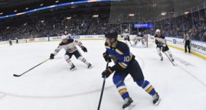 Brayden Schenn and the Blues