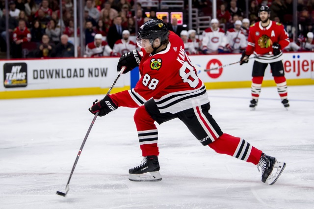 It's looking like it could be a tough year or two for the Chicago Blackhawks. Could they consider trading Patrick Kane at some point?