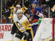 The Pittsburgh Penguins could be looking to move center Derick Brassard.