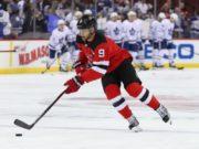 New Jersey Devils forward Taylor Hall