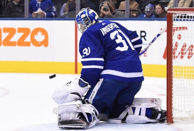 Frederik Andersen is getting close to returning.