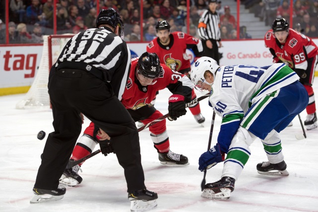 Elias Pettersson is not ruled out for tonight.