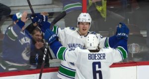 Elias Pettersson and Brock Boeser are two big reason that the Vancouver Canucks are a fun team to watch again.