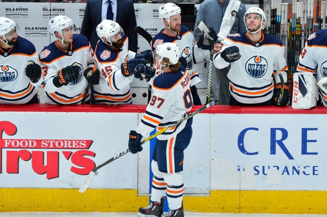 The Edmonton Oilers are out of a playoff position but want to make a push. Will they become buyers at the trade deadline?