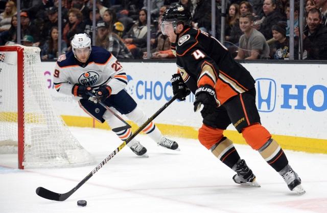Anaheim Ducks defenseman Cam Fowler returns. Rickard Rakell not able to go.