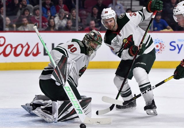 The Minnesota Wild hang on the last wild card spot.