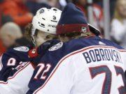 Rumors have Columbus Blue Jackets Sergei Bobrovsky and Artemi Panarin ending up in Florida.