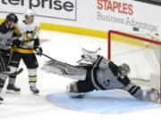 Los Angeles goaltender Jonathan Quick could be one goaltended that is moved before the trade deadline