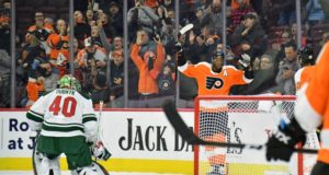 The Philadelphia Flyers are committed to trade forward Wayne Simmonds just yet.