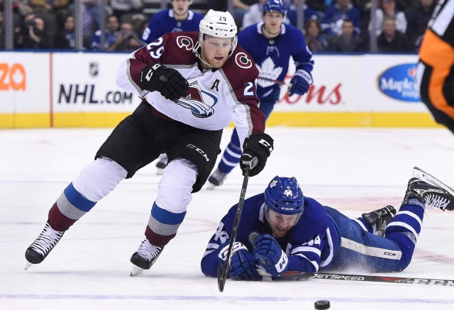 Nathan MacKinnon may have not needed an MRI after all.