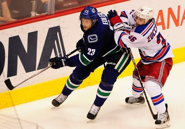 The Vancouver Canucks and Alex Edler will talk contract extension soon. The New York Rangers should trade Mats Zuccarello as soon as they get a legit offer.