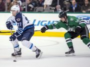Nikolaj Ehlers is out until early February. Jamie Benn returns to the lineup today.