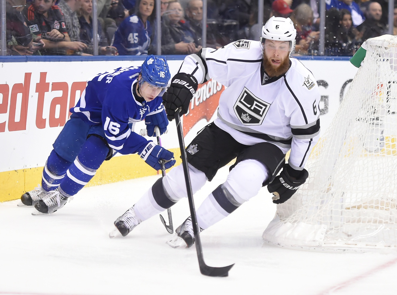 Maple Leafs acquire defenseman Muzzin in trade with Kings