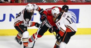 The Anaheim Ducks put Ryan Kesler on the IR. Patrick Eaves plays a rehab game.